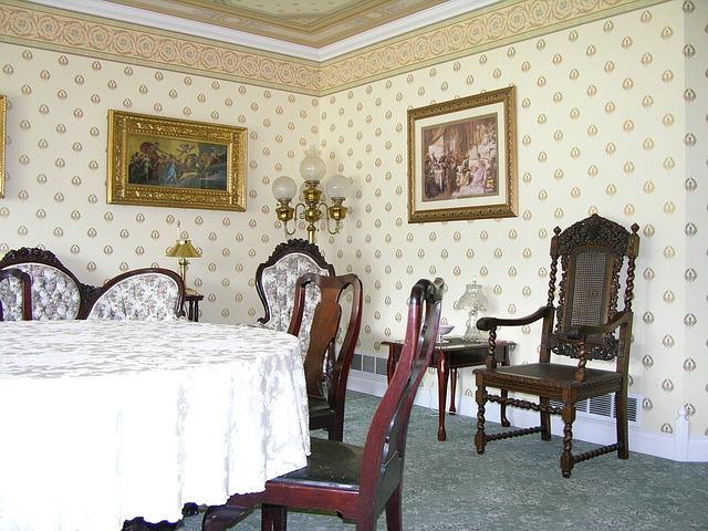 viktoriánská jídelna