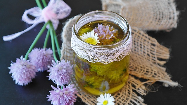 olej s česnekem