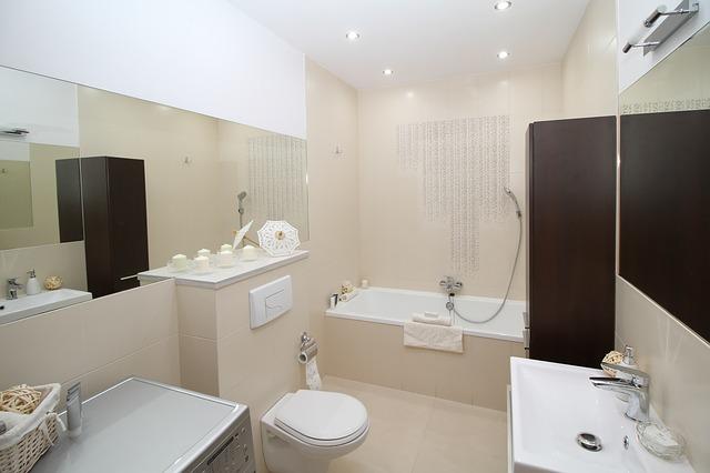moderní koupelna s vanou