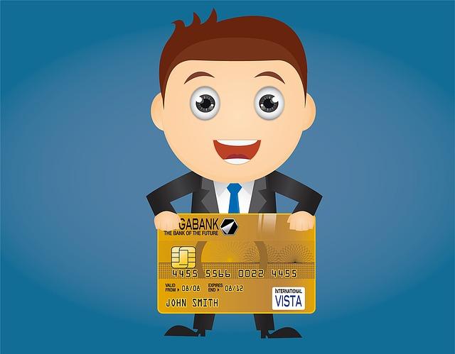bankéř a karta