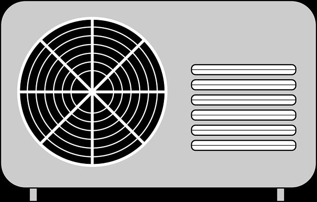 větrák klimatizace