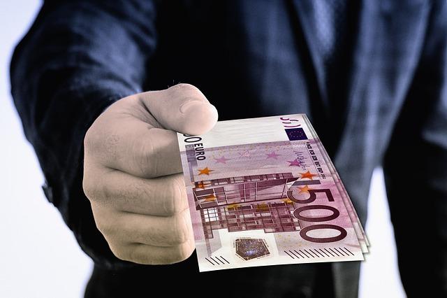 peníze papírové