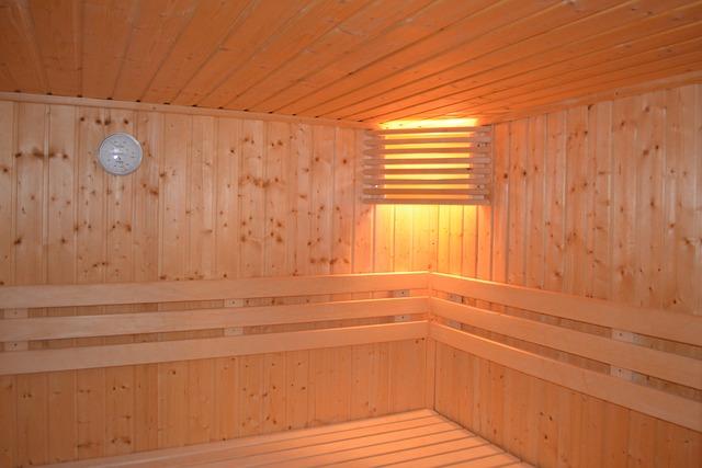 hodiny v sauně